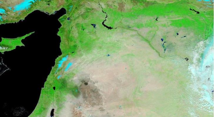 صور الأقمار الإصطناعية التابعة لوكالة الفضاء الامريكية ناسا