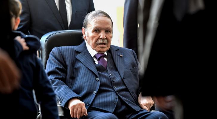 الرئيس الجزائري عبدالعزيز بوتفليقة - ارشيفية