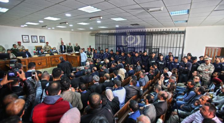 صورة من جلسة المحكمة
