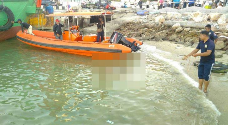 صورة من موقع الحادثة - وسائل اعلام تايلاندية