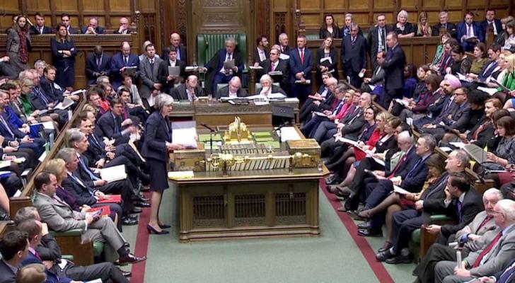 مجلس العموم البريطاني يرفض الخروج من الاتحاد الأوروبي دون اتفاق