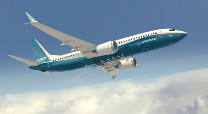 """طائرة من طراز """"بوينغ 737-8 MAX"""""""