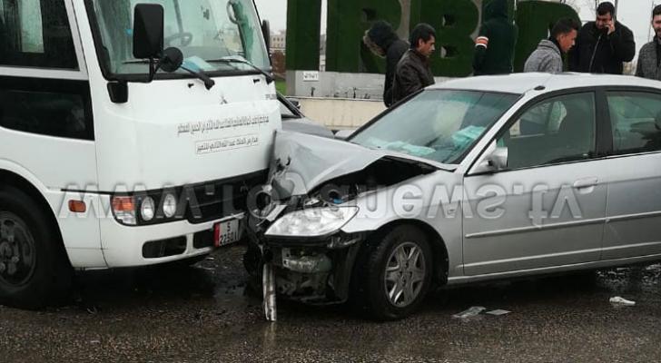 من موقع الحادث