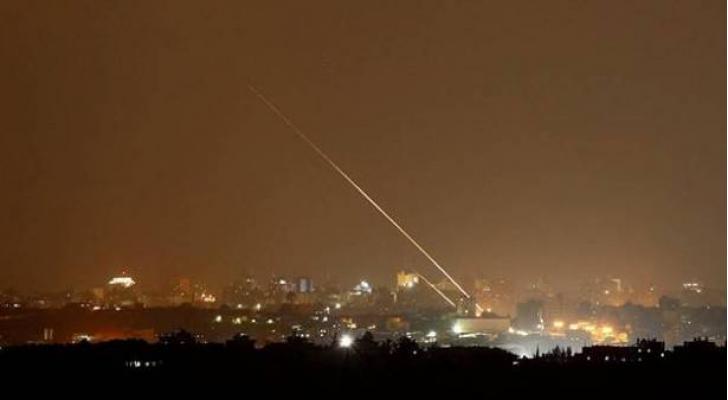اطلاق صواريخ من قطاع غزة باتجاه تل ابيب