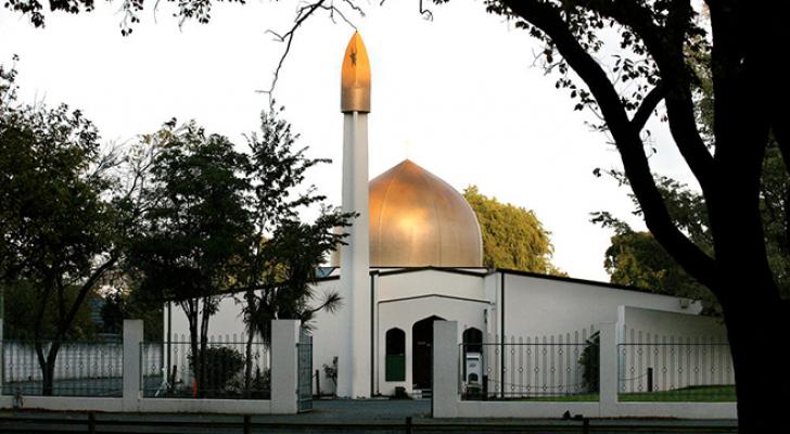 مسجد مدينة كرايست تشيرش في نيوزيلاند