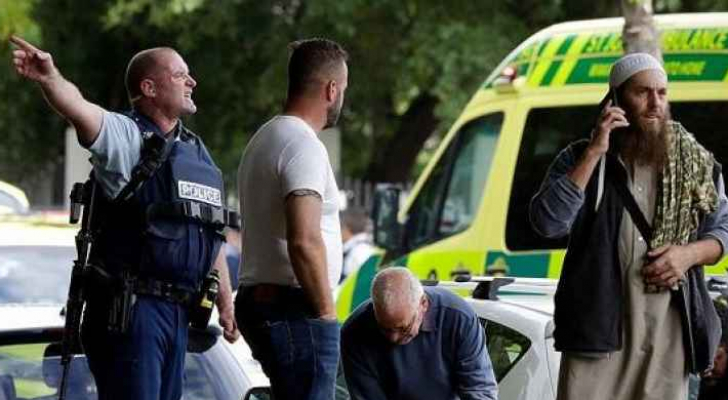 صورة من موقع المذبحة