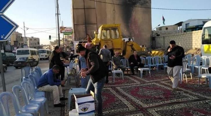 عشائر بني حسن في الأردن تقيم عرسا للشهيد عمر ابو ليلى