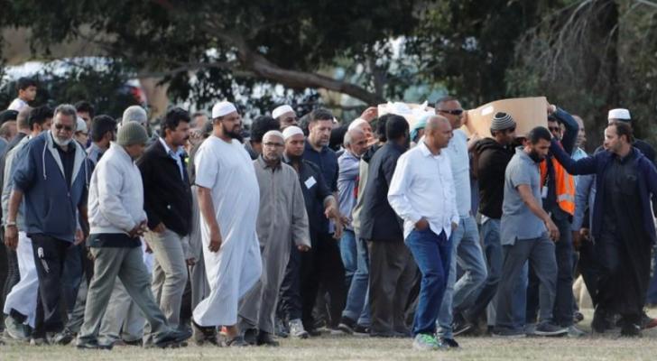 تشييع ضحايا الهجوم الارهابي الاربعاء