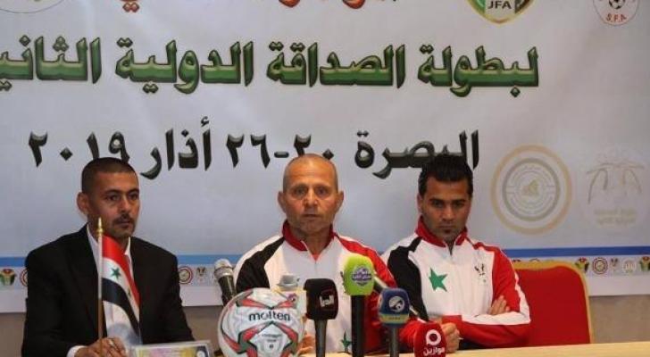 المدرب السوري أكد أن مباراة مهمة ولها حساباتها