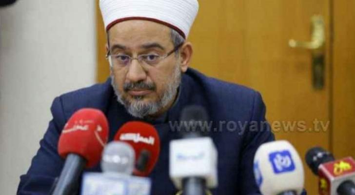 وزير الأوقاف والشؤون والمقدسات الإسلامية عبد الناصر أبو البصل