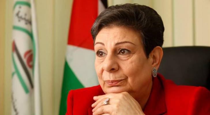 عضو اللجنة التنفيذية لمنظمة التحرير الفلسطينية حنان عشراوي