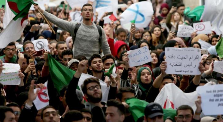 الاحتجاجات في الجزائر - ارشيفية