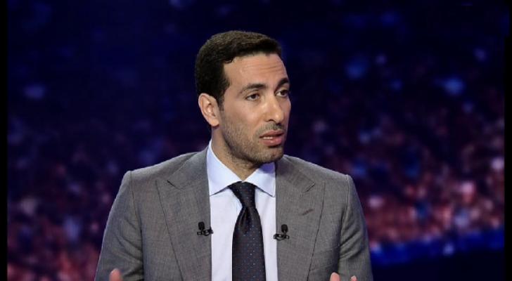 اللاعب السابق في منتخب مصر لكرة القدم محمد أبو تريكة