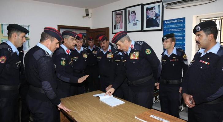 الأمن العام يطلق مشروع تطوير آلية العمل في المراكز الأمنية