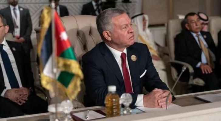 جلالة الملك عبدالله الثاني في القمة العربية