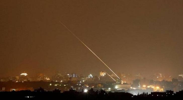 الاحتلال: إطلاق 5 صواريخ من غزة تجاه المستوطنات