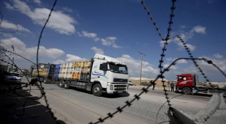 الاحتلال يفتح معبري غزة بعد اغلاقهما حوالى اسبوع