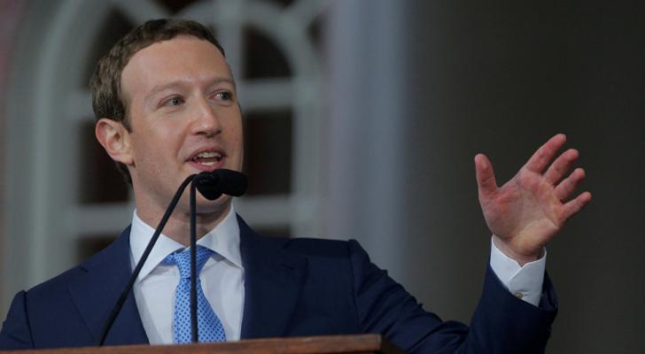 مارك زوكربيرغ، الرئيس التنفيذي لفيسبوك
