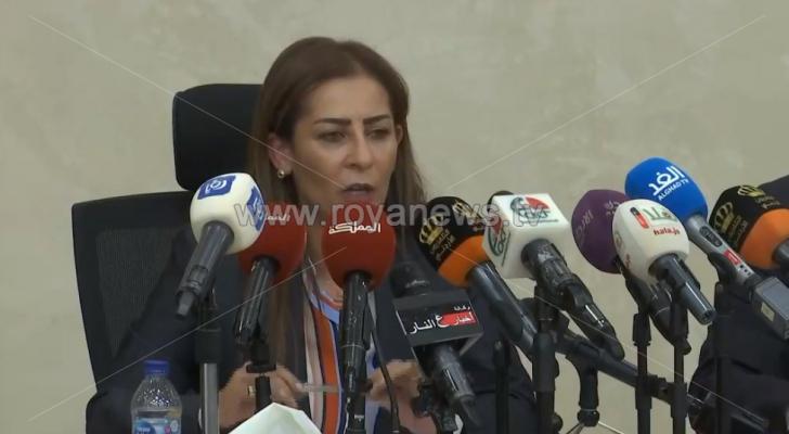وزير الدولة لشؤون الاعلام، الناطق باسم الحكومة، جمانة غنيمات