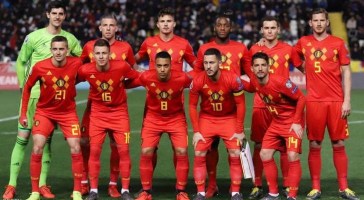 المنتخب البلجيكي لكرة القدم