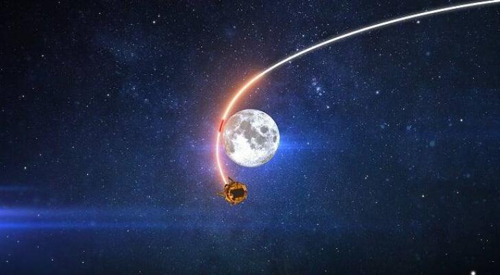 صورة للمركبة الفضائية نشرتها وسائل إعلام عبرية