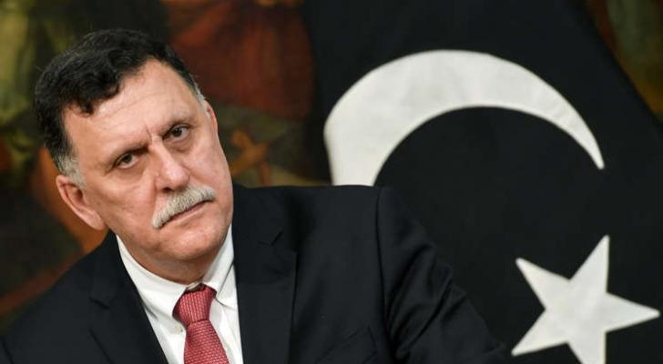 رئيس المجلس الرئاسي لحكومة الوفاق فايز السراج