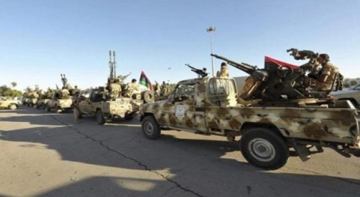 قوات الجيش التابعة للمجلس الرئاسي الليبي