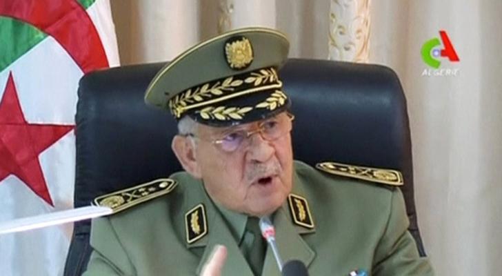 الفريق أحمد قايد صالح نائب وزير الدفاع ورئيس أركان الجيش الجزائري
