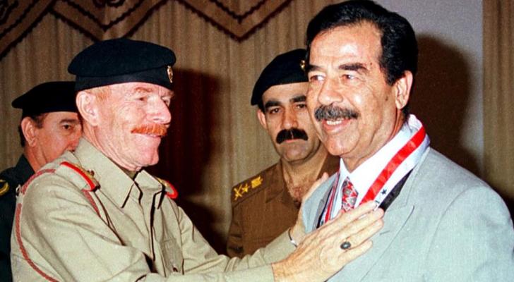 صدام حسين وعزت الدوري