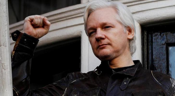 جوليان أسانج مؤسس موقع «ويكيليكس»