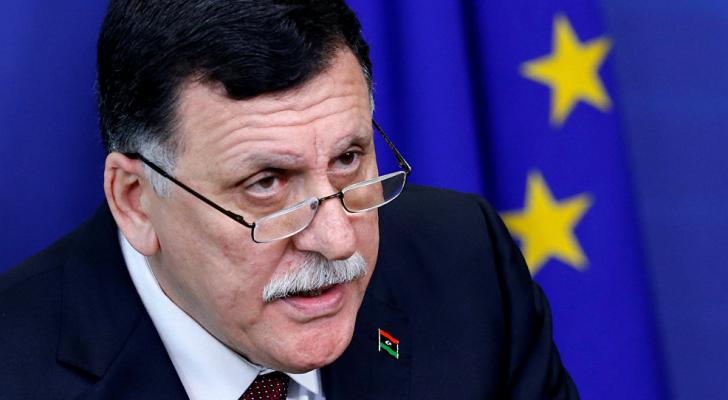 رئيس المجلس الرئاسي الليبي لحكومة الوفاق الوطني الليبية، فايز السراج