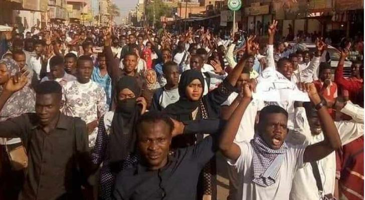 تظاهرات السودان - ارشيفية