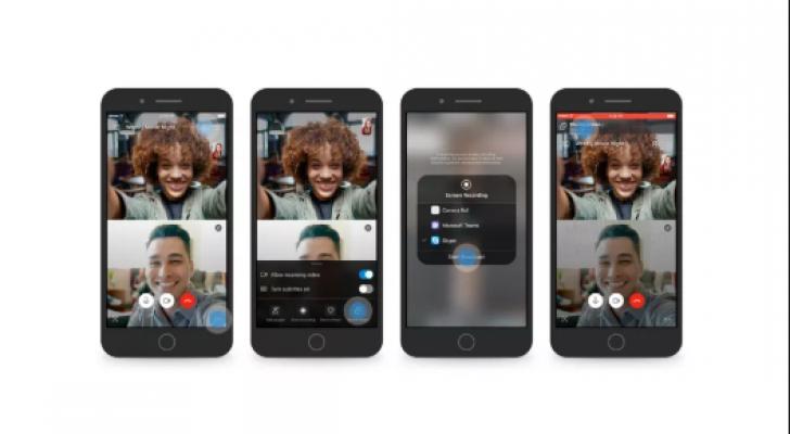 سكايب يضيف مشاركة الشاشة على أندرويد و iOS