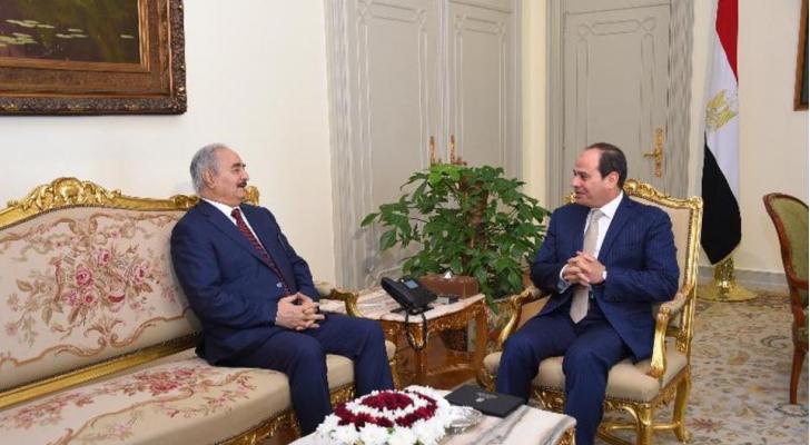لقاء بين السيسي وحفتر في القاهرة يعود إلى 2017