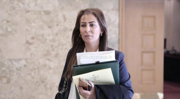 وزيرة الدولة لشؤون الإعلام الناطق الرسمي باسم الحكومة جمانة غنيمات