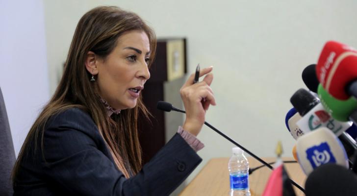 وزير الدولة لشؤون الإعلام، الناطق الرسمي باسم الحكومة جمانة غنيمات