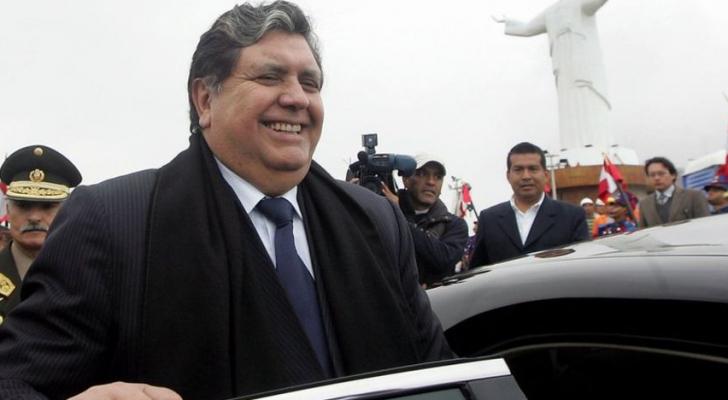رئيس بيرو السابق آلان جارسيا