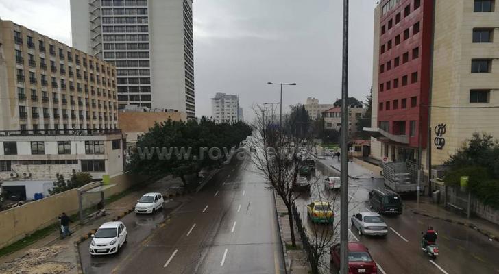 ارشيفية للأمطار في عمان
