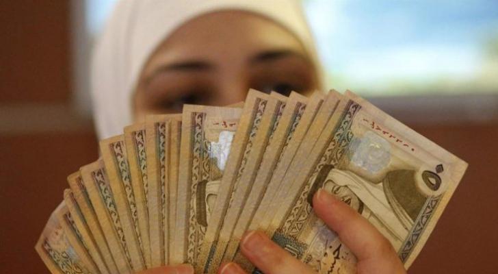 نقود أردنية - تعبيرية