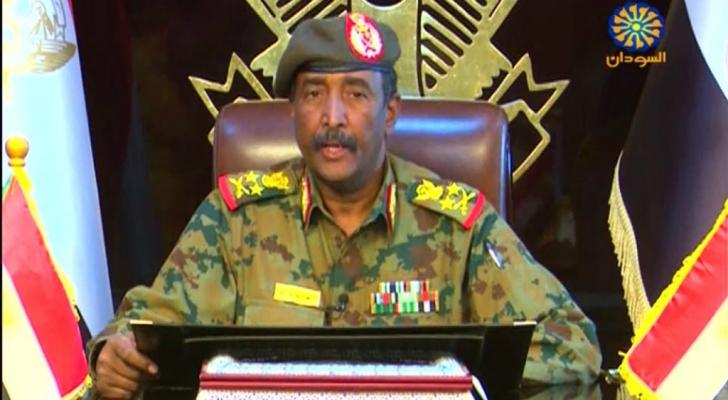 رئيس المجلس العسكري الانتقالي في السودان، الفريق أول ركن عبد الفتاح البرهان