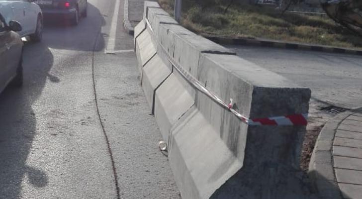 إغلاق الالتفاف القادم من شارع اليرموك (جسر المربط (النشا)) باتجاه شارع الجيش اعتبارا من فجر اليوم