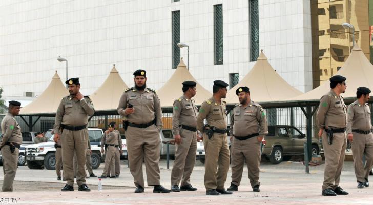 عناصر من الشرطة السعودية - ارشيفية