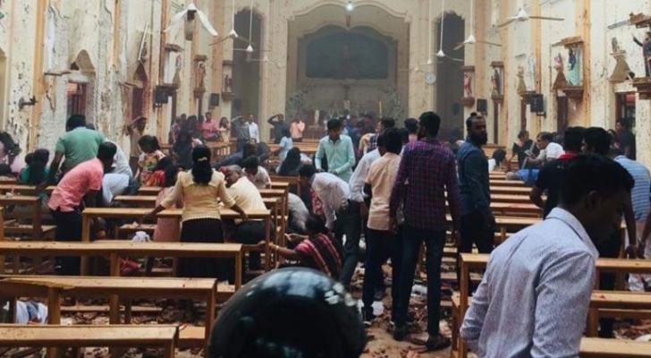 من تفجيرات سريلانكيا