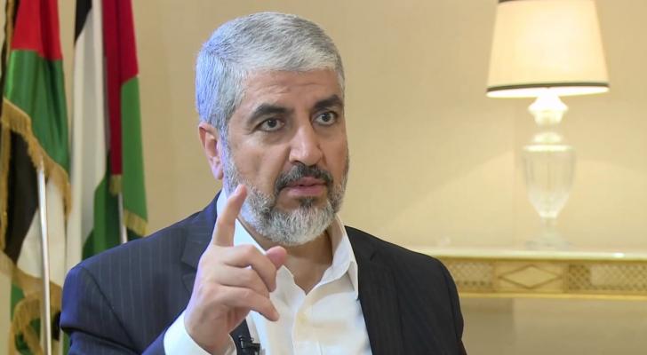 رئيس المكتب السياسي  لحركة حماس السابق خالد مشعل