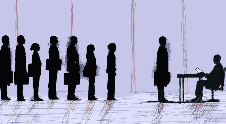 تعبيرية عن البطالة