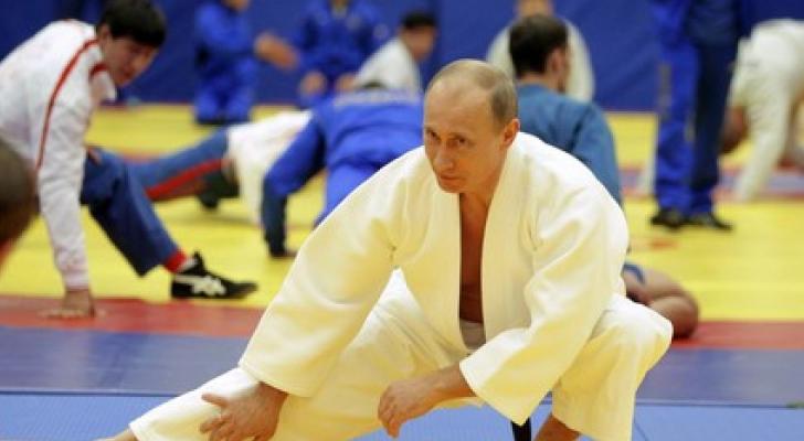 بوتين يمارس الرياضة - ارشيفية
