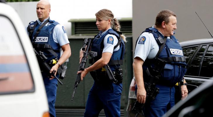 عناصر من الشرطة النيوزيلندية- ارشيفية