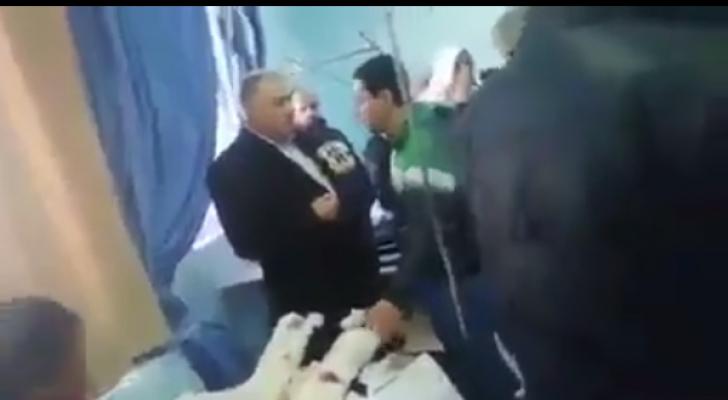 وزير الصحة في مستشفى الأميرة بسمة