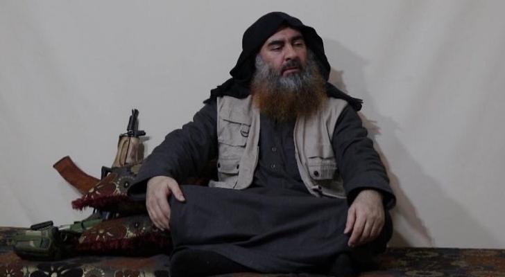 زعيم تنظيم داعش الإرهابي أبو بكر البغدادي