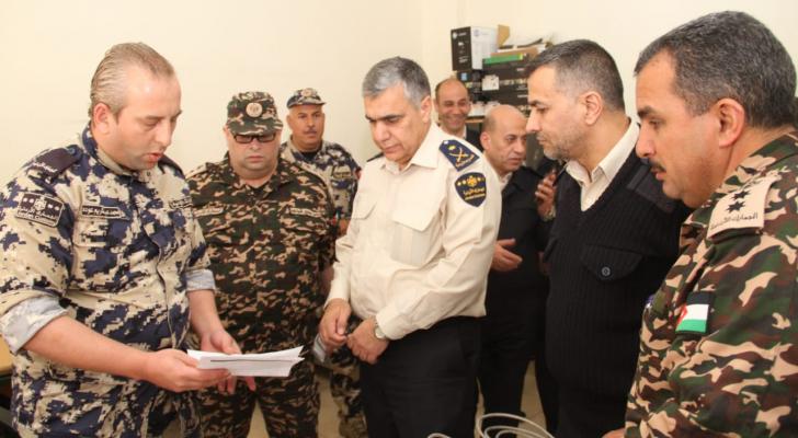 مدير عام الجمارك اللواء الدكتور عبدالمجيد الرحامنة